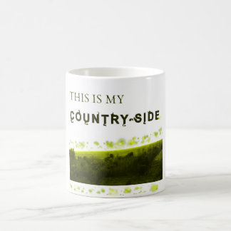 This is my country-side coffee mug