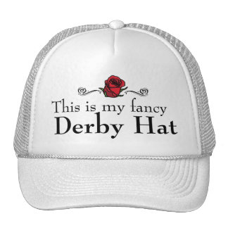 This is My Fancy Derby Hat
