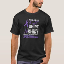 This Is My Fight Shirt Lupus Awareness Support Pur