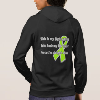This is My Fight Shirt...Lyme Hoodie