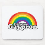 THIS IS MY GAYPRON -.png Mouse Pads
