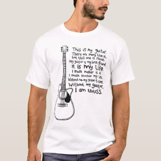 This Is My Guitar (for light tees) T-Shirt