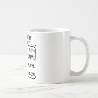 This Is My Gun Permit Coffee Mug