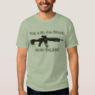 This Is My Gun Permit T-shirts & Shirts