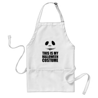 this is my Halloween costume Adult Apron