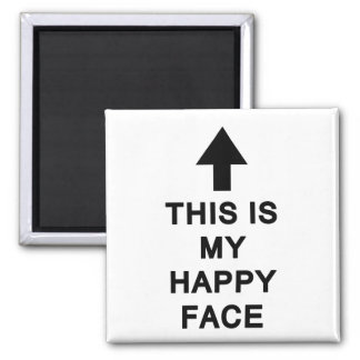 This is My Happy Face Magnet