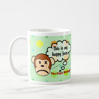 This is my happy face classic white coffee mug
