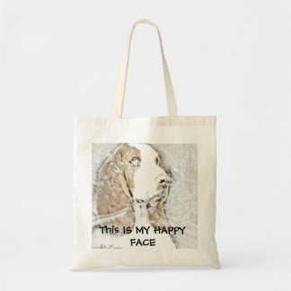 This IS MY HAPPY FACE Tote Bag