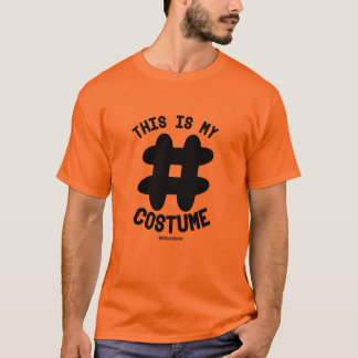 This is My Hashtag Costume -  - .png T-Shirt