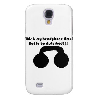 This is my headphone time! Not to be disturbed! Galaxy S4 Cover