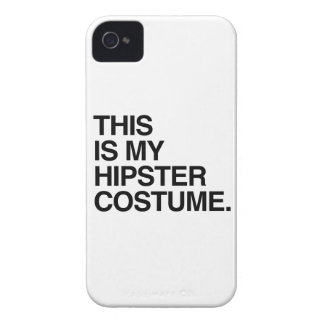 THIS IS MY HIPSTER COSTUME iPhone 4 CASE