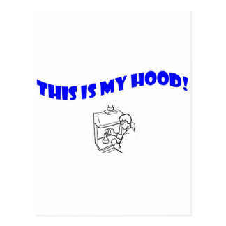 This Is My Hood! Postcard