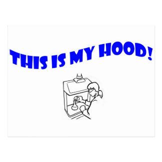 This Is My Hood! Postcard