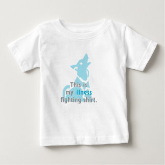This is my illness fighting shirt. tee shirt