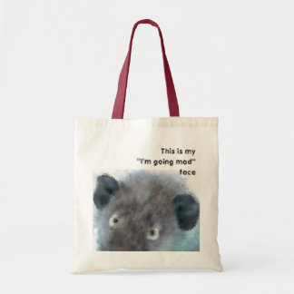 """this is my """"I'm going mad"""" face Tote bag"""