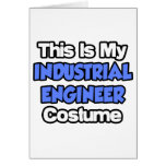 This Is My Industrial Engineer Costume Cards