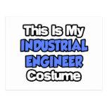 This Is My Industrial Engineer Costume Postcard