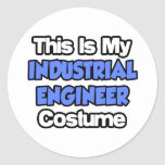 This Is My Industrial Engineer Costume Stickers