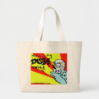 This Is My Inside Voice Tote Bag