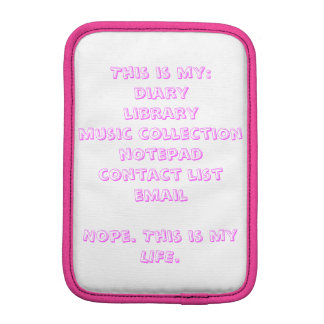 This is my... sleeve for iPad mini