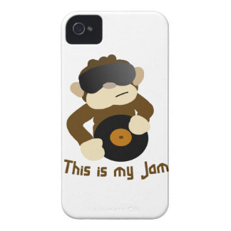 This is my jam, Monkey iPhone 4 Case-Mate Case