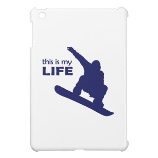 This Is My Life (Snowboarding) Cover For The iPad Mini