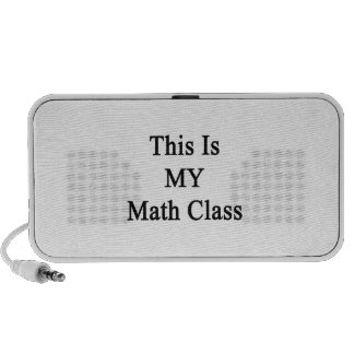 This Is MY Math Class Travel Speaker