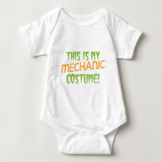 This is my MECHANIC costume Baby Bodysuit