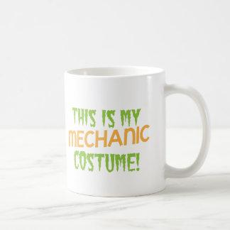 This is my MECHANIC costume Coffee Mug