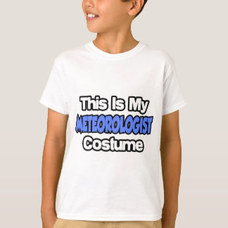 This Is My Meteorologist Costume T-Shirt