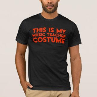 This Is My Music Teacher Costume Shirt