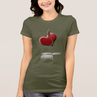 """This Is My Noosed Heart"" Emo T-Shirt"