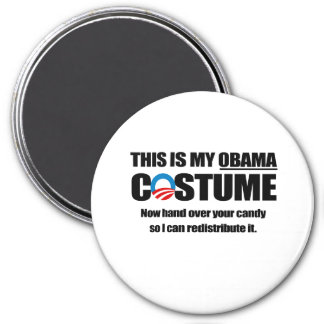 This is my Obama Costume 3 Inch Round Magnet