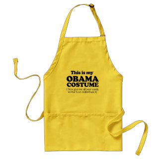 This is my Obama Costume Apron