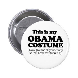 This is my Obama Costume Button