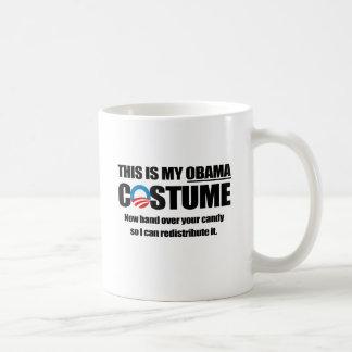 This is my Obama Costume Coffee Mugs