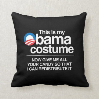 THIS IS MY OBAMA COSTUME NOW GIVE ME YOUR CANDY PILLOW