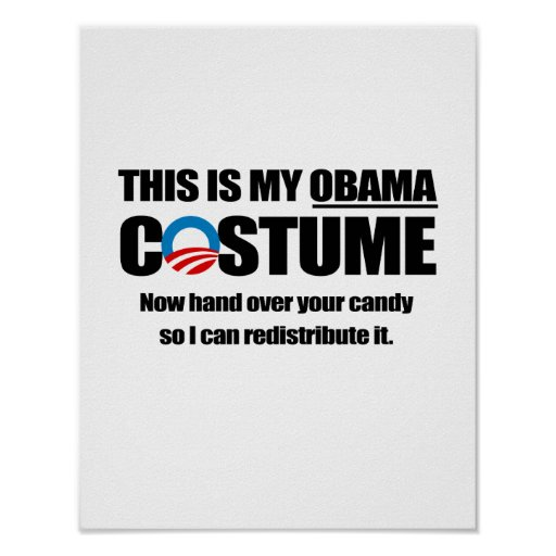 This is my Obama Costume Posters