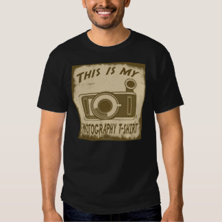 THIS IS MY PHOTOGRAPHY T-SHIRT