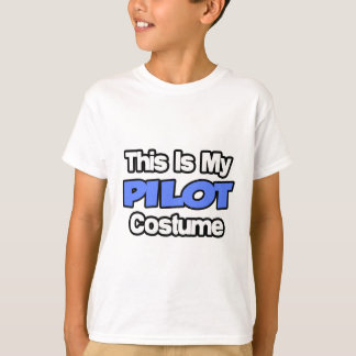 This Is My Pilot Costume T-Shirt