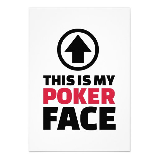 This is my poker face announcements
