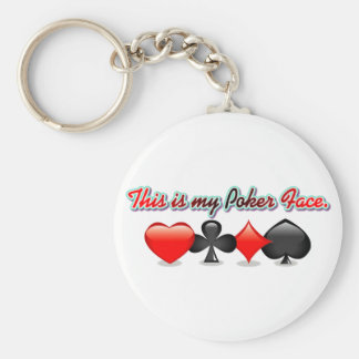 This is my Poker Face. Keychain