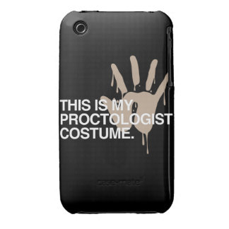 THIS IS MY PROCTOLOGIST COSTUME Case-Mate iPhone 3 CASE