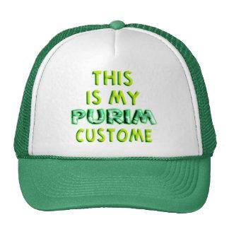 This is my Purim Custome Trucker Hat