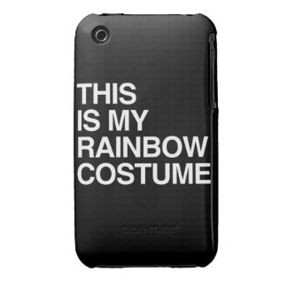 THIS IS MY RAINBOW HALLOWEEN COSTUME iPhone 3 Case-Mate CASES