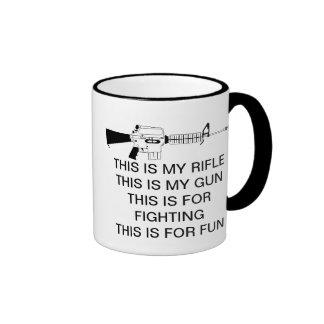 THIS IS MY RIFLE COFFEE MUGS