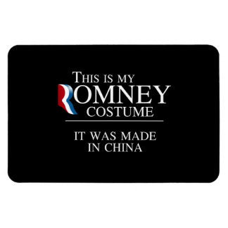 THIS IS MY ROMNEY COSTUME IT WAS MADE IN CHINA -.p Rectangular Photo Magnet