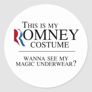 THIS IS MY ROMNEY COSTUME WANNA SEE MY MAGIC UNDER STICKERS