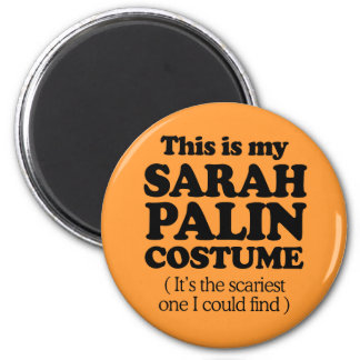 THIS IS MY SARAH PALIN COSTUME 2 INCH ROUND MAGNET