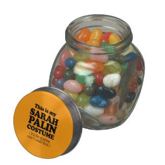 THIS IS MY SARAH PALIN COSTUME - Halloween -.png Glass Jars